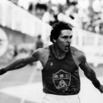 Jean Jacques Boussemard 1984 Los Angeles 200 m finaliste 6ème