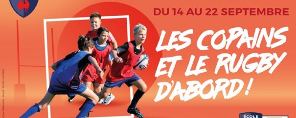 L'Ecole de Rugby du BEC prête à décoller après la  Coupe du Monde !