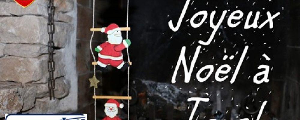 Joyeux Noël à toutes et à tous !!!